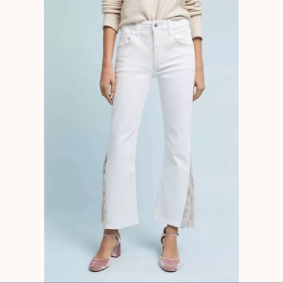 e4001af2497 ANTHROPOLOGIE by PILCRO High-Rise Flared Jeans